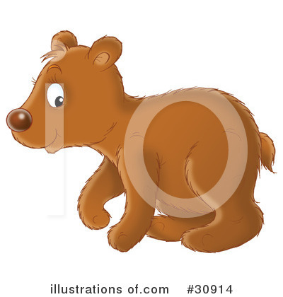 Bear Clipart #30914 by Alex Bannykh