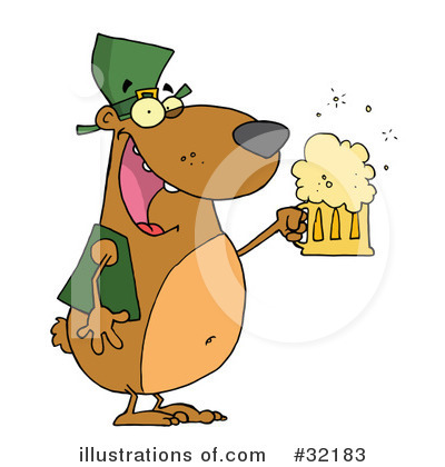 Beer Clipart #32183 by Hit Toon