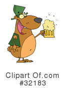 Royalty-Free (RF) Bear Clipart Illustration #32183