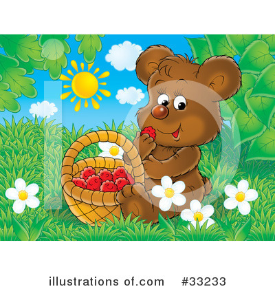 Bear Clipart #33233 by Alex Bannykh