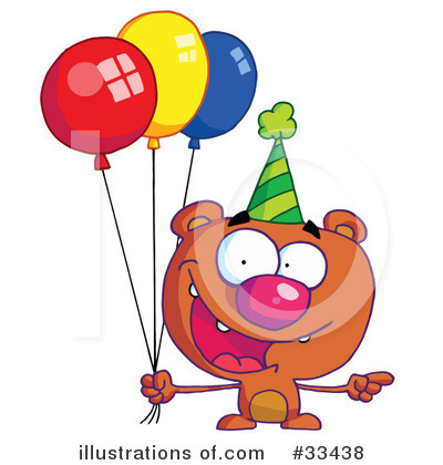 Balloons Clipart #33438 by Hit Toon