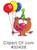 Bear Clipart #33438 by Hit Toon