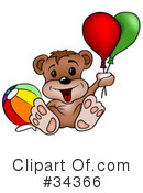 Bear Clipart #34366 by dero
