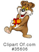 Royalty-Free (RF) Bear Clipart Illustration #35606