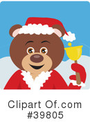 Royalty-Free (RF) bear Clipart Illustration #39805