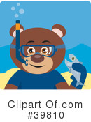 Royalty-Free (RF) bear Clipart Illustration #39810