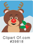 Bear Clipart #39818 by Dennis Holmes Designs