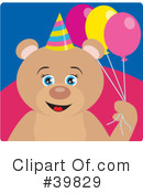 Bear Clipart #39829 by Dennis Holmes Designs