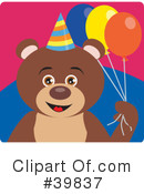 Bear Clipart #39837 by Dennis Holmes Designs