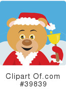 Royalty-Free (RF) bear Clipart Illustration #39839