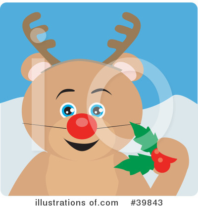 Royalty-Free (RF) Bear Clipart Illustration by Dennis Holmes Designs - Stock Sample #39843