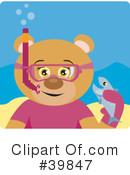 Royalty-Free (RF) bear Clipart Illustration #39847