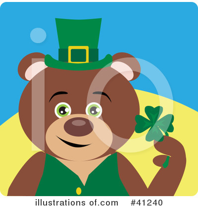 Leprechaun Clipart #41240 by Dennis Holmes Designs