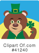 Royalty-Free (RF) Bear Clipart Illustration #41240