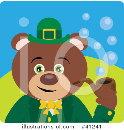 St Patricks Day Clipart #41241 by Dennis Holmes Designs