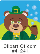 Royalty-Free (RF) Bear Clipart Illustration #41241