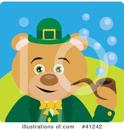 Leprechaun Clipart #41242 by Dennis Holmes Designs