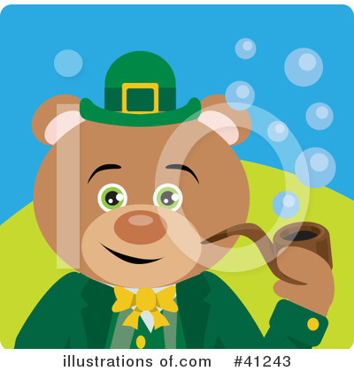 Leprechaun Clipart #41243 by Dennis Holmes Designs