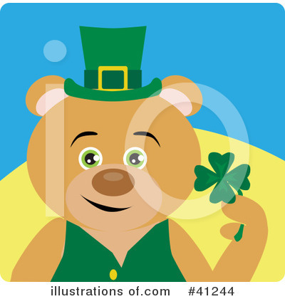 Leprechaun Clipart #41244 by Dennis Holmes Designs