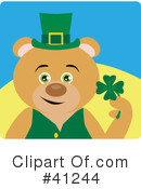 Royalty-Free (RF) Bear Clipart Illustration #41244