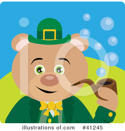 Leprechaun Clipart #41245 by Dennis Holmes Designs