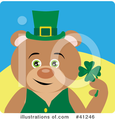 Leprechaun Clipart #41246 by Dennis Holmes Designs