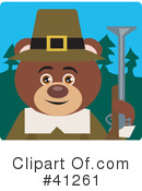 Royalty-Free (RF) Bear Clipart Illustration #41261