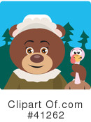 Royalty-Free (RF) Bear Clipart Illustration #41262
