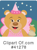 Royalty-Free (RF) Bear Clipart Illustration #41278