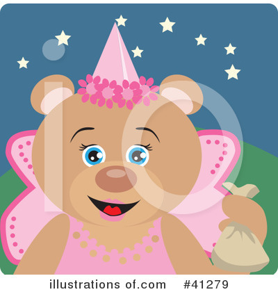 Tooth Fairy Clipart #41279 by Dennis Holmes Designs