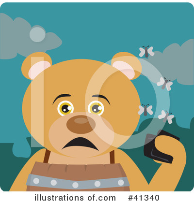 Bear Clipart #41340 by Dennis Holmes Designs