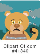 Royalty-Free (RF) Bear Clipart Illustration #41340