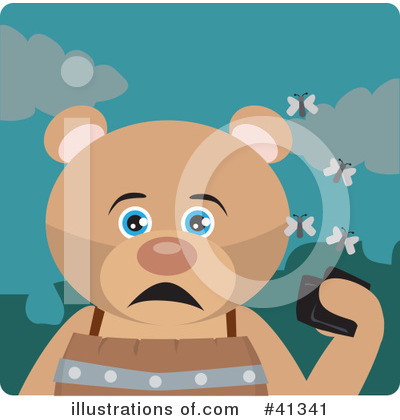 Bear Clipart #41341 by Dennis Holmes Designs
