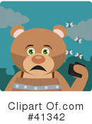 Royalty-Free (RF) Bear Clipart Illustration #41342
