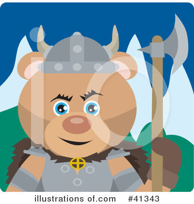 Bear Clipart #41343 by Dennis Holmes Designs