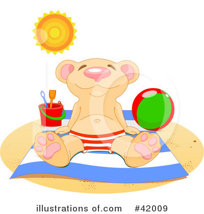 Teddy Bear Clipart #42009 by Pushkin
