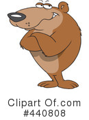 Royalty-Free (RF) Bear Clipart Illustration #440808