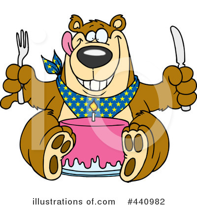 Bear Clipart #440982 by toonaday
