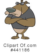 Royalty-Free (RF) Bear Clipart Illustration #441186