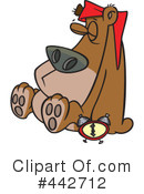 Royalty-Free (RF) Bear Clipart Illustration #442712