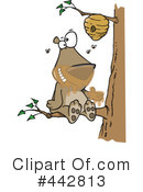 Royalty-Free (RF) Bear Clipart Illustration #442813