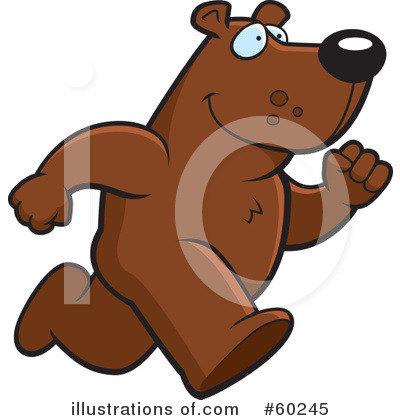 Bear Clipart #60245 by Cory Thoman