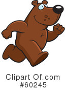 Royalty-Free (RF) Bear Clipart Illustration #60245