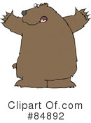Royalty-Free (RF) Bear Clipart Illustration #84892