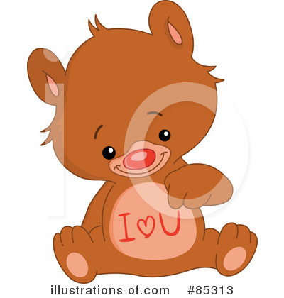 Teddy Bear Clipart #85313 by yayayoyo