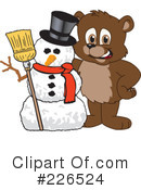 Bear Mascot Clipart #226524 by Toons4Biz
