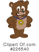 Bear Mascot Clipart #226540 by Toons4Biz