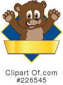 Bear Mascot Clipart #226545 by Toons4Biz