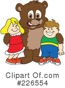 Bear Mascot Clipart #226554 by Toons4Biz