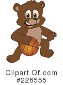 Bear Mascot Clipart #226555 by Toons4Biz